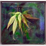 Japanese Maple Pod - 12x12 - Oil On Canvas - $375